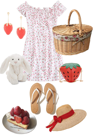 Strawberry Picnic Date/Outing