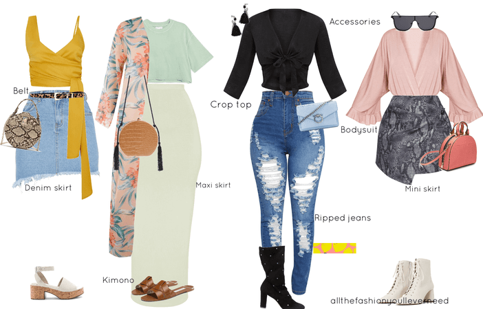 summer outfits and activities