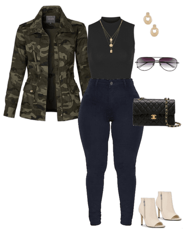 Fall Wardrobe Outfit 3