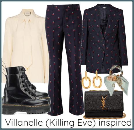 Villanelle (Killing Eve) inspired