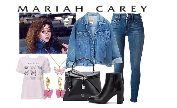 Mariah Carey - fall outfit
