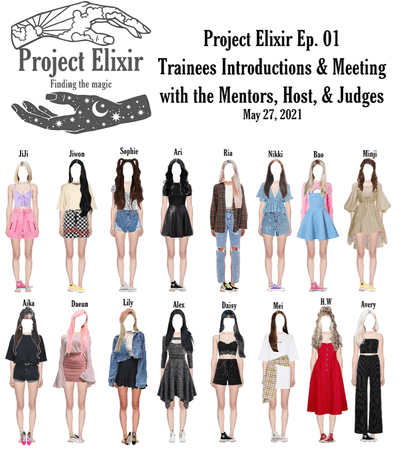 Project Elixir Ep. 01 Trainees Introduction & Meeting with Mentors, Host, & Judges