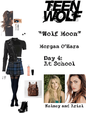 "Teen Wolf: ""Wolf Moon"" - Morgan O'Hara - Day 4: At School"