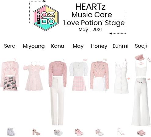{HEARTz} 'Love Potion' Music Core Stage