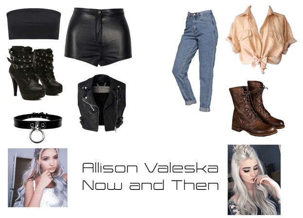 Allison Valeska- Before and After/ Now and Then
