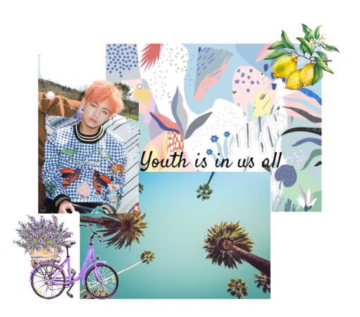 youth moodboard