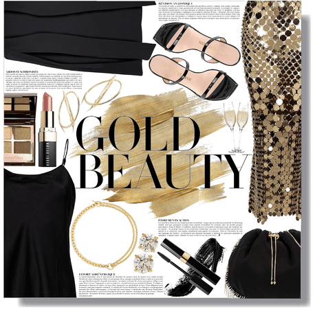 💛 gold standout 💛