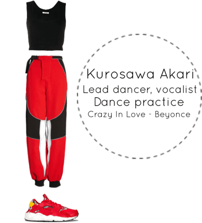 Akari Pre-debut Special Clip - Crazy In Love Dance Cover
