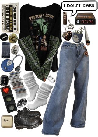 grunge is an attitude
