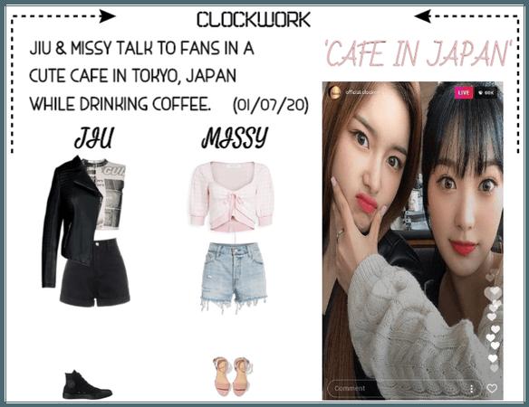 *CWK* | INSTAGRAM LIVE: CAFE IN JAPAN