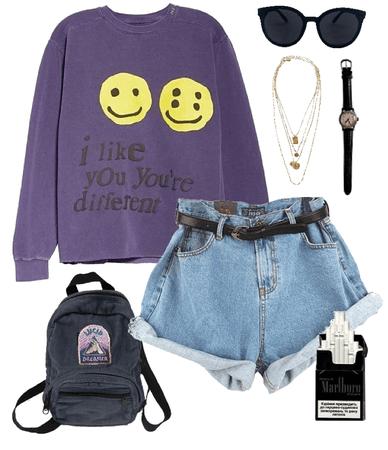 purple grunge