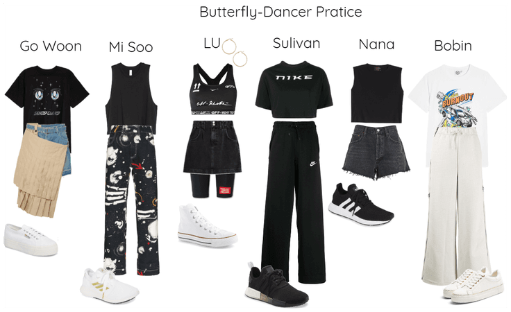 Butterfly-Dancer Pratice