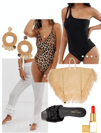 beach club outfit