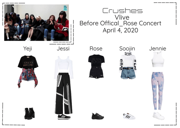 Crushes (호감) Surprise Vlive W/ Rose