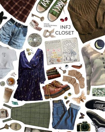 Infj closet