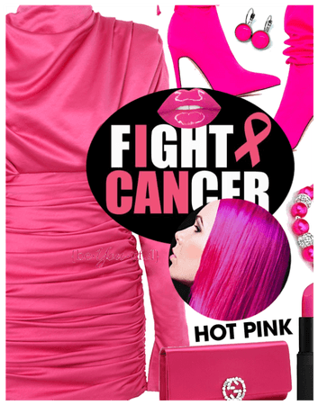 I wear PINK for all the cancer survivors