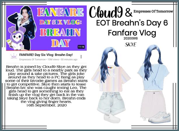Cloud9 (구름아홉) | EOT Breahn's Fanfare Vlog | 91620