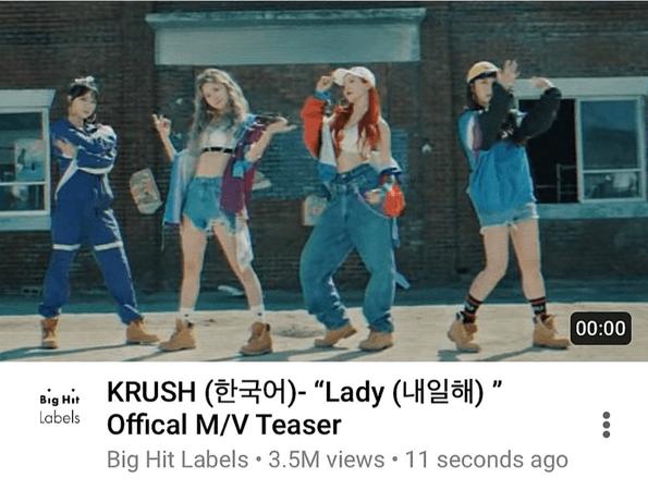 KRUSH Lady M/V Teaser