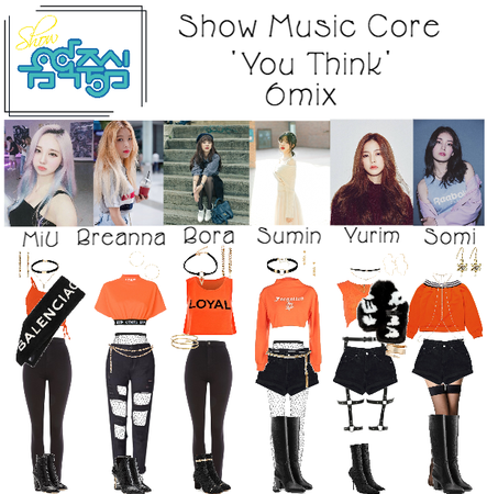 6mix - Show Music Core Live 'You Think'