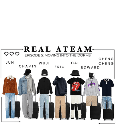 [REAL ATEAM] EPISODE 5: OUTFITS