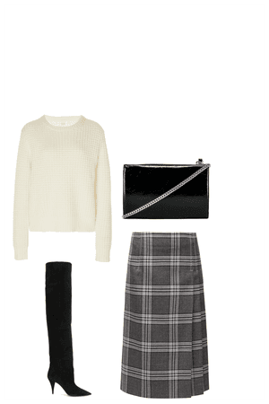 Thigh High Boot Look#1