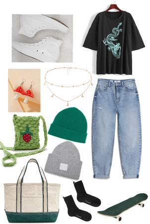 skater/casual