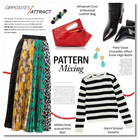 Opposites Attract: Pattern Mix