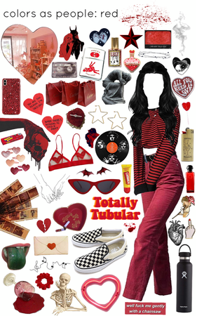 colors as people: red