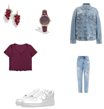 Fall/Summer Jeans Outfit