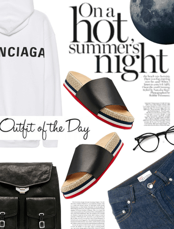 Outfit of the Day: Summer Nights