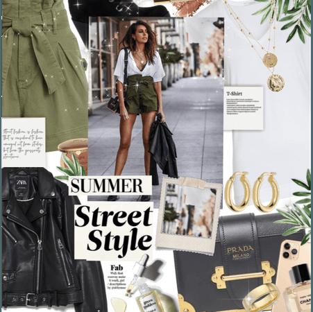 City street walker