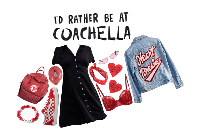 Coachella Outfit : Girl Who Wants To Meet A Guy