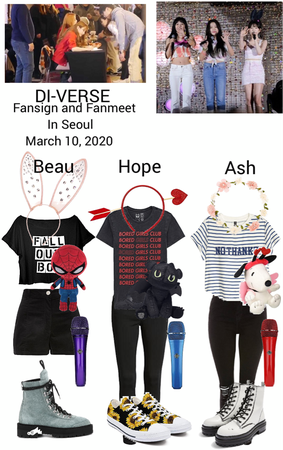 DI-VERSE fansign and fanmeet