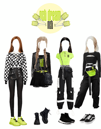 NCT performance girls outfit
