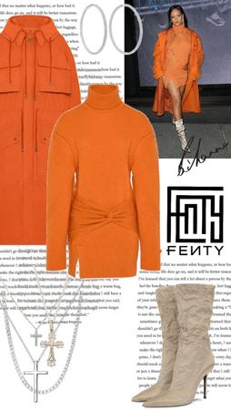 rihanna 🧡 FENTY