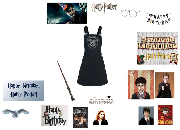 Harry Potter birthday challenge