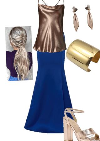 Copper goddess