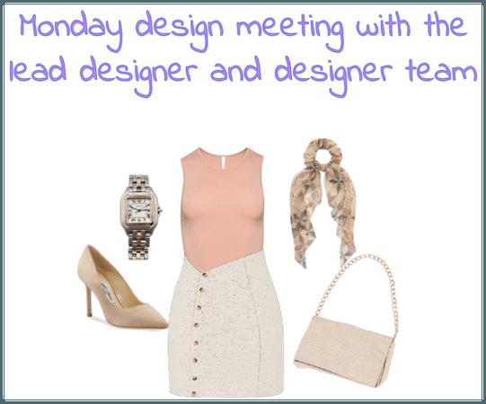 monday design meeting