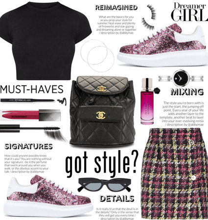 Pink Shoe Style