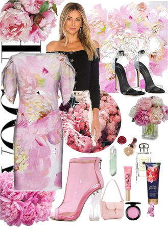 peony. color trend: pink