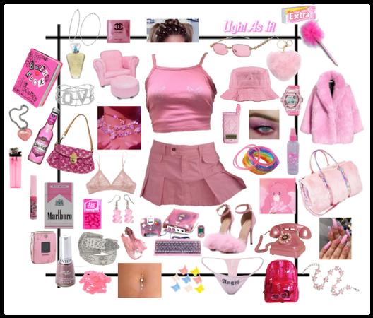 Y2K / 90s / pink aesthetic