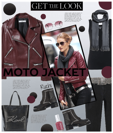 LEATHER JACKET- Fall season must have!