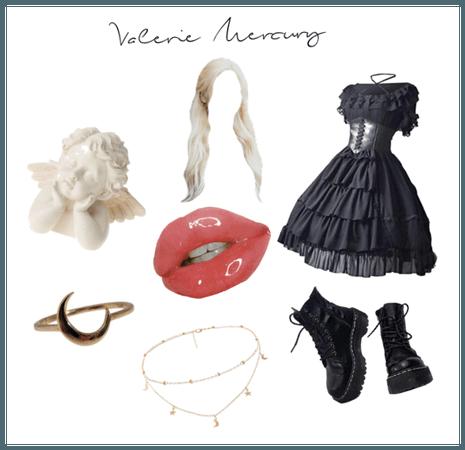 Valerie Mercury niche mood board