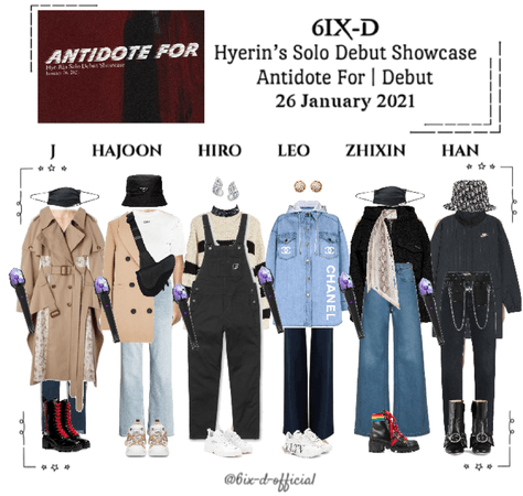 6IX-D [식스디] NOVA's Hye-Rin's Solo Debut Showcase 210126