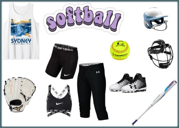 sporty looks - softball practice