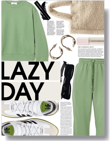 lazy comfort day 💚