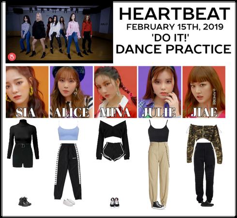 [HEARTBEAT] 'DO IT!' DANCE PRACTICE