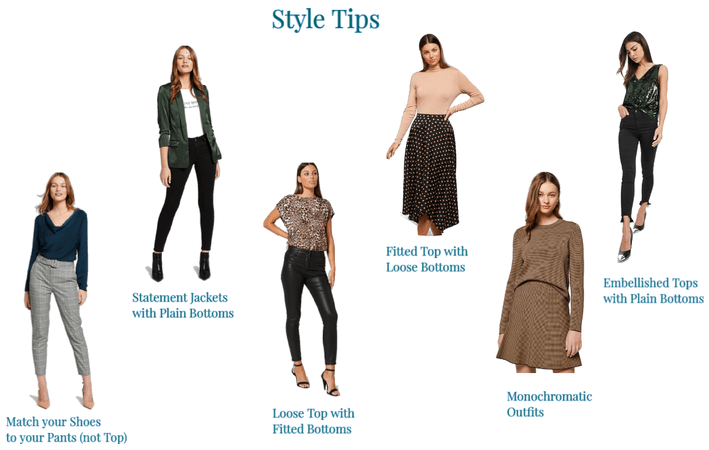 Style Tips for Petite Pears