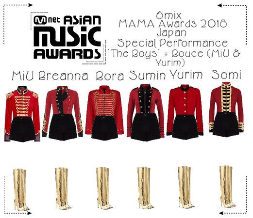 《6mix》Mnet Asia Music Awards Special Performance
