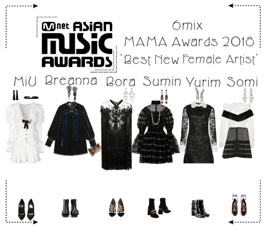 《6mix》Mnet Asia Music Awards Red Carpet 2018